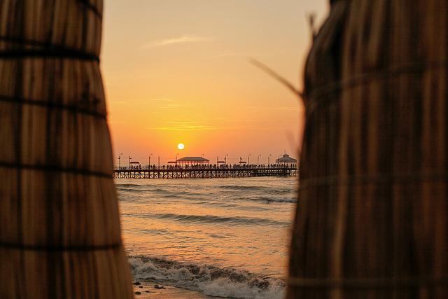 La plage de Huanchaco