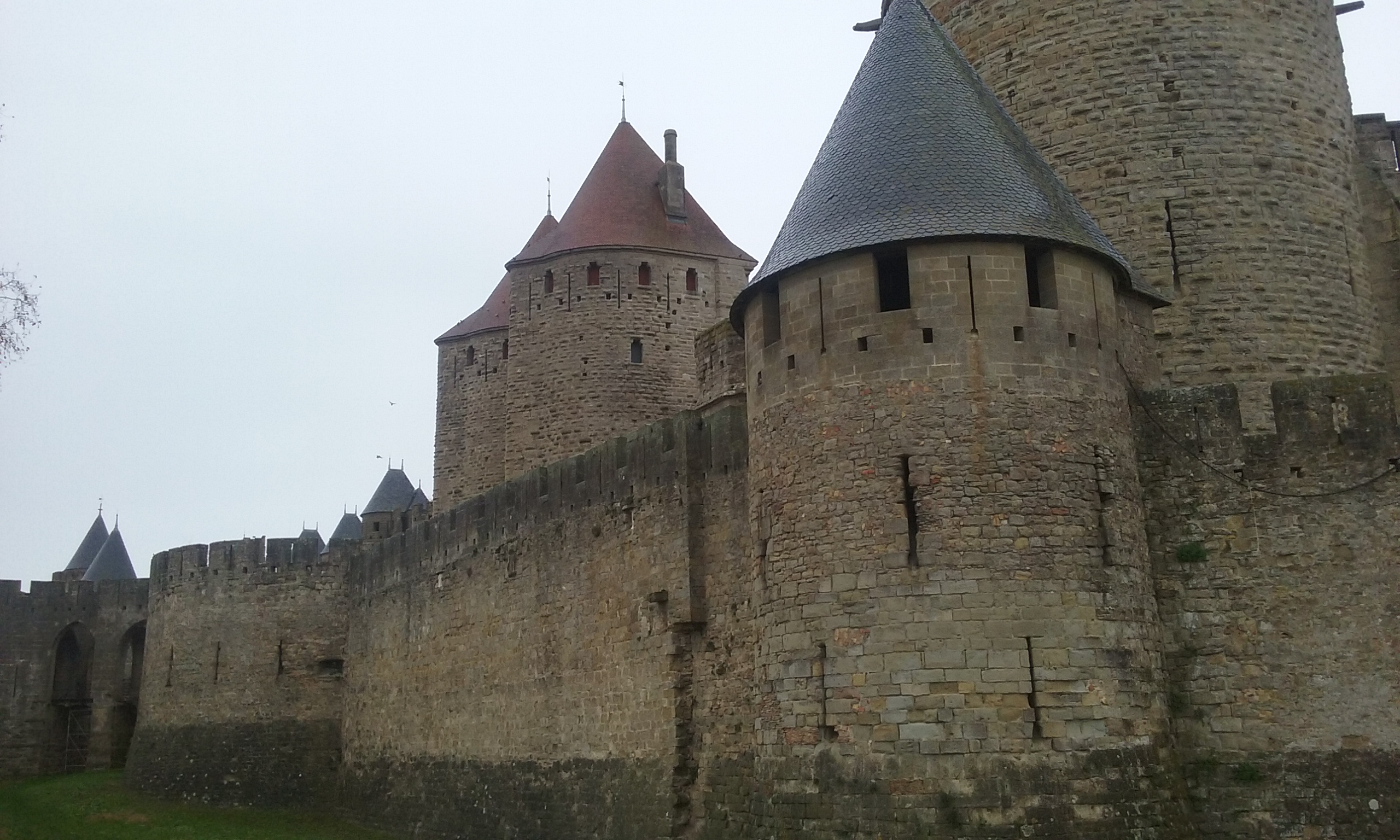 Les tours et murailles de Carcassonne