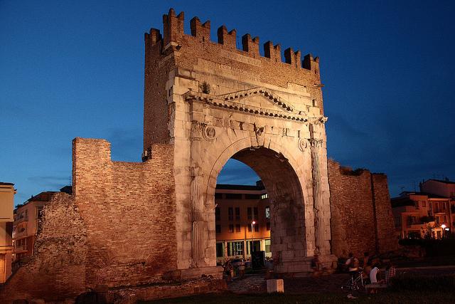 Arco d'Augusto à Rimini