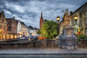 La ville de Bruges en Belgique