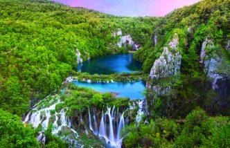 Les lacs et chutes de Plitvice