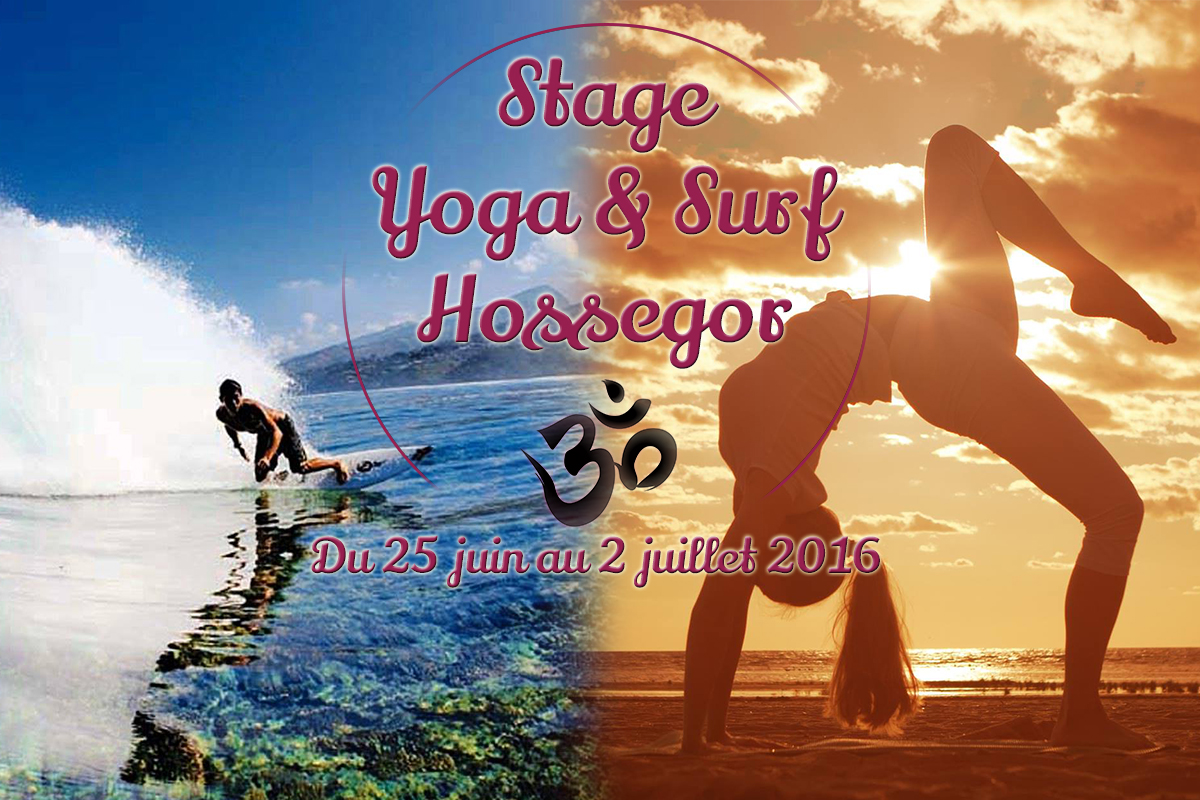 Stage de yoga et surf à Hossegor