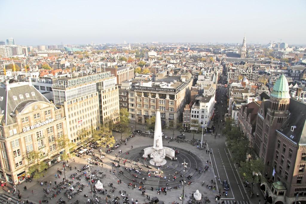 Place du Dam à Amsterdam