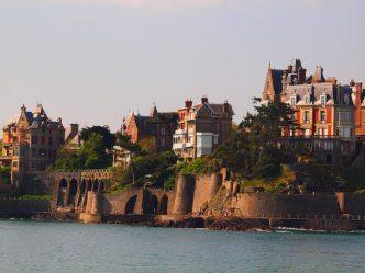 Maisons en bord de mer à Dinard