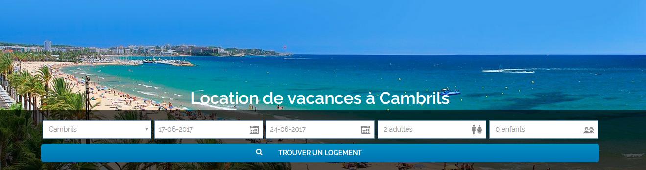 Location de vacances à Cambrils