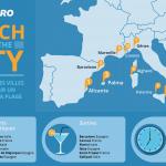 Voyage plage & ville, quelles destinations choisir en Europe ?