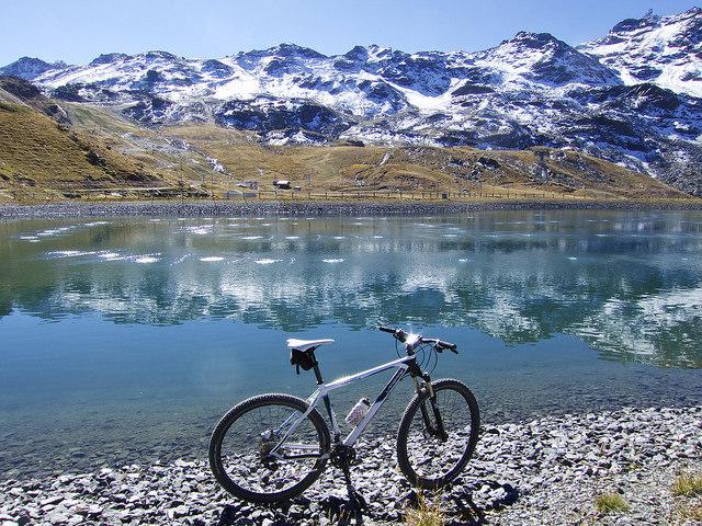 Sortie à vélo - Val Thorens