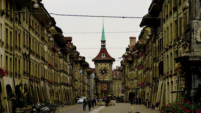 Tour de Berne en Suisse