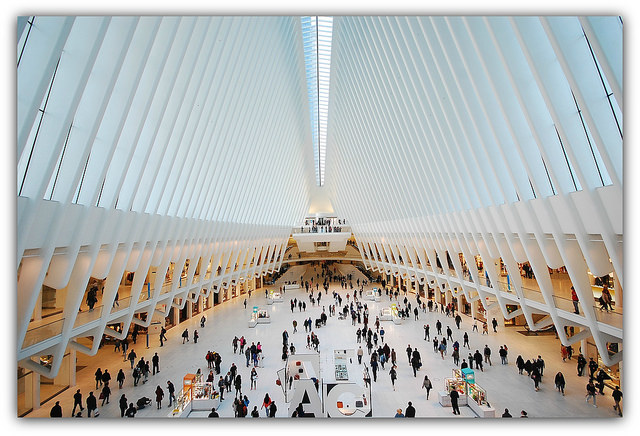 Westfield World Trade Center Shopping Mall - New York