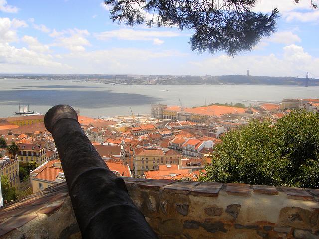 Château de Saint-Georges à Lisbonne
