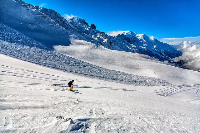 Ski à Chamonix