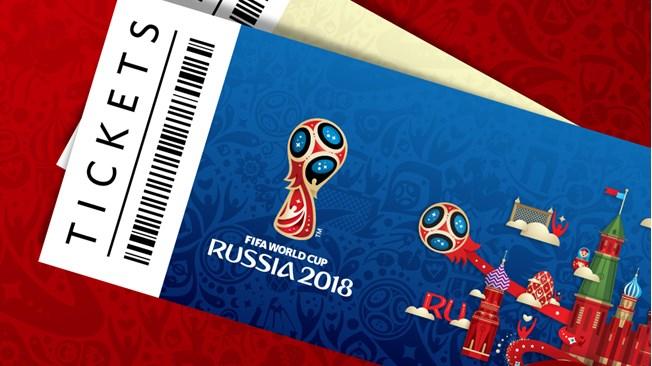 Ticket FIFA pour la Coupe du Monde de Russie