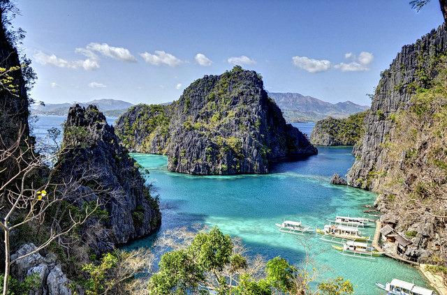 Coron aux Philippines