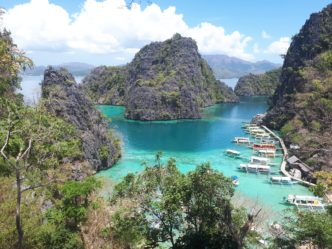 Coron Bay, près du Kayangan Lake