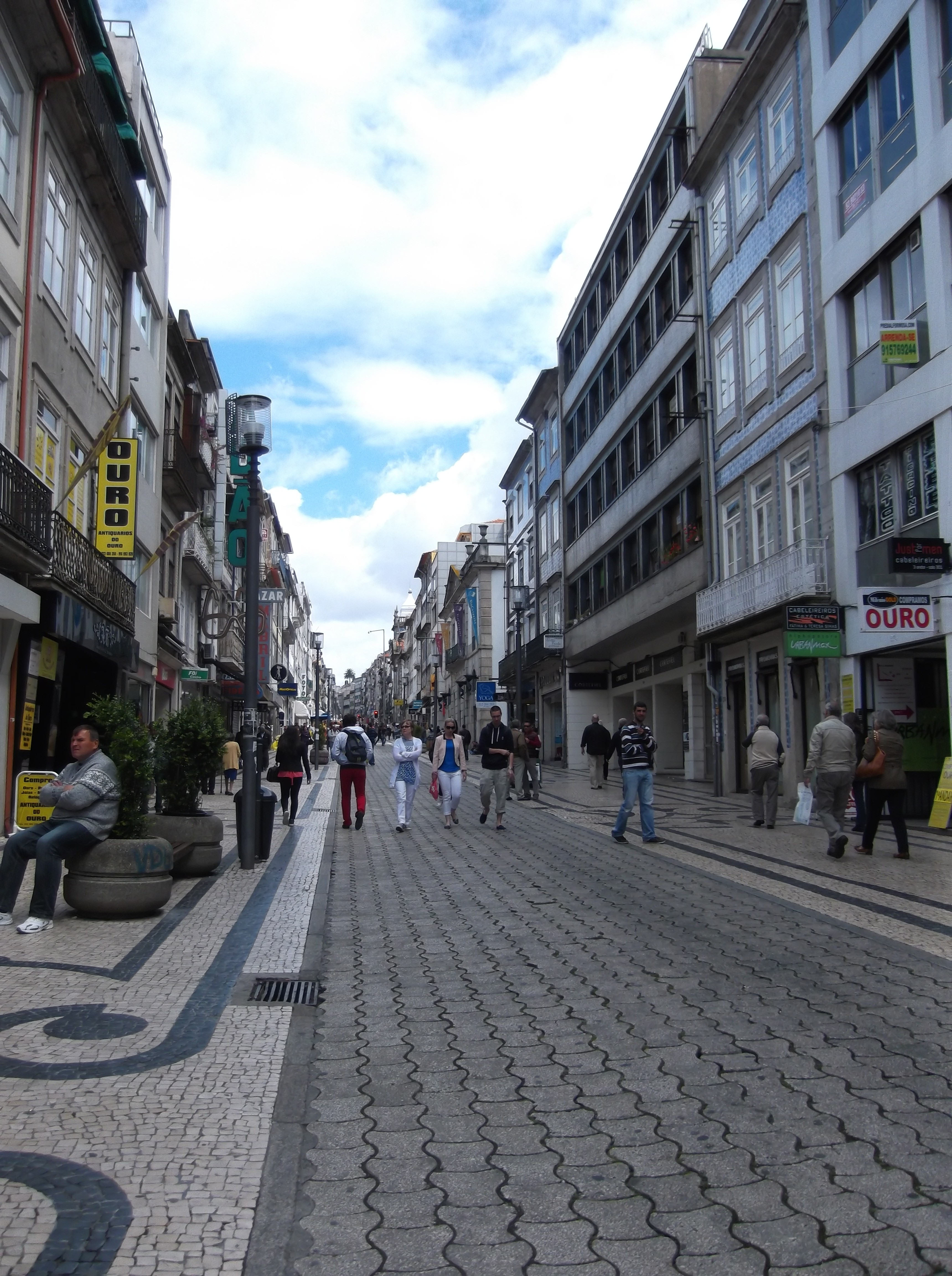 Rua Santa Catarina a Porto