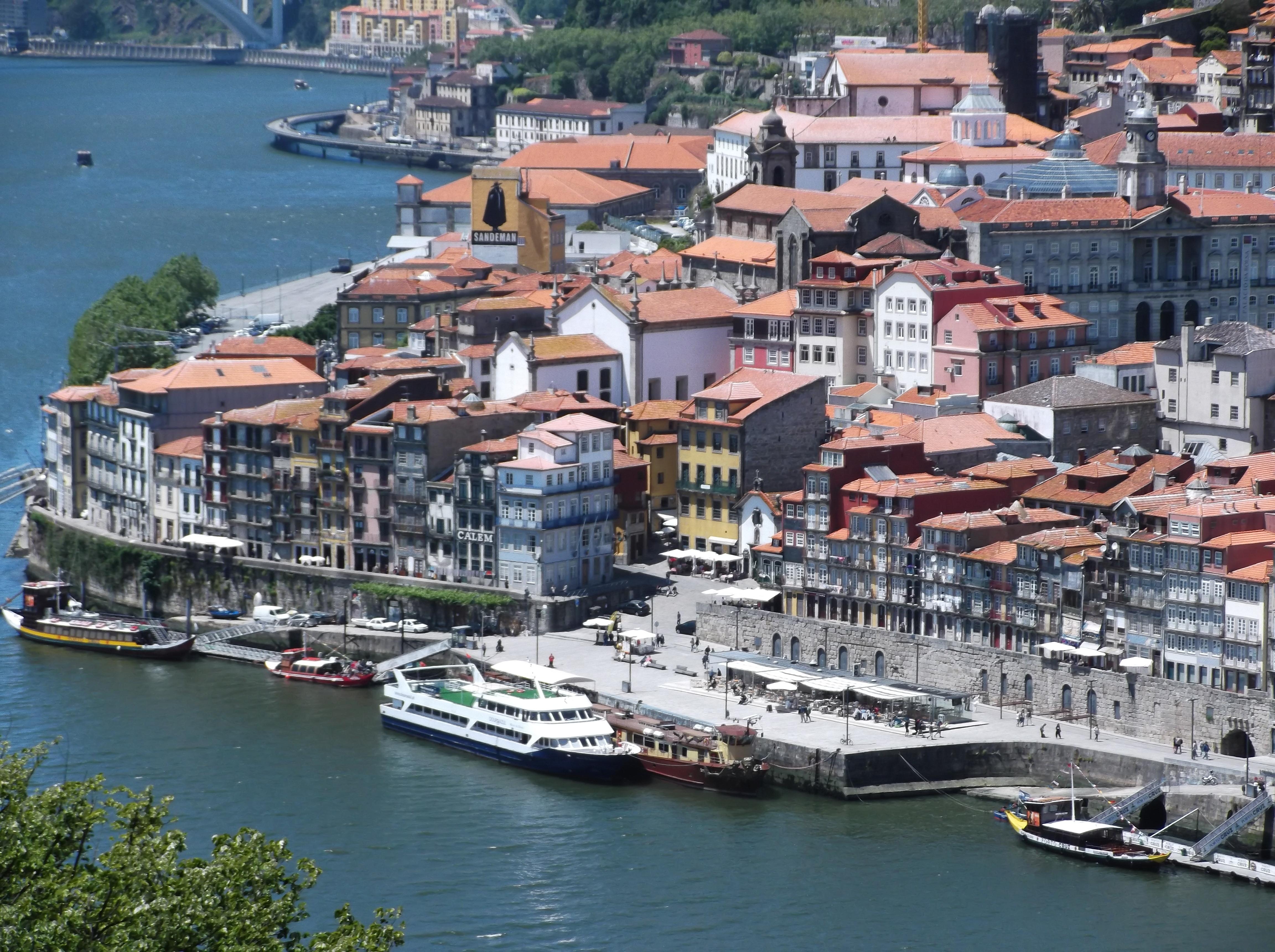 Le Vieux Porto : quartier de la Ribeira