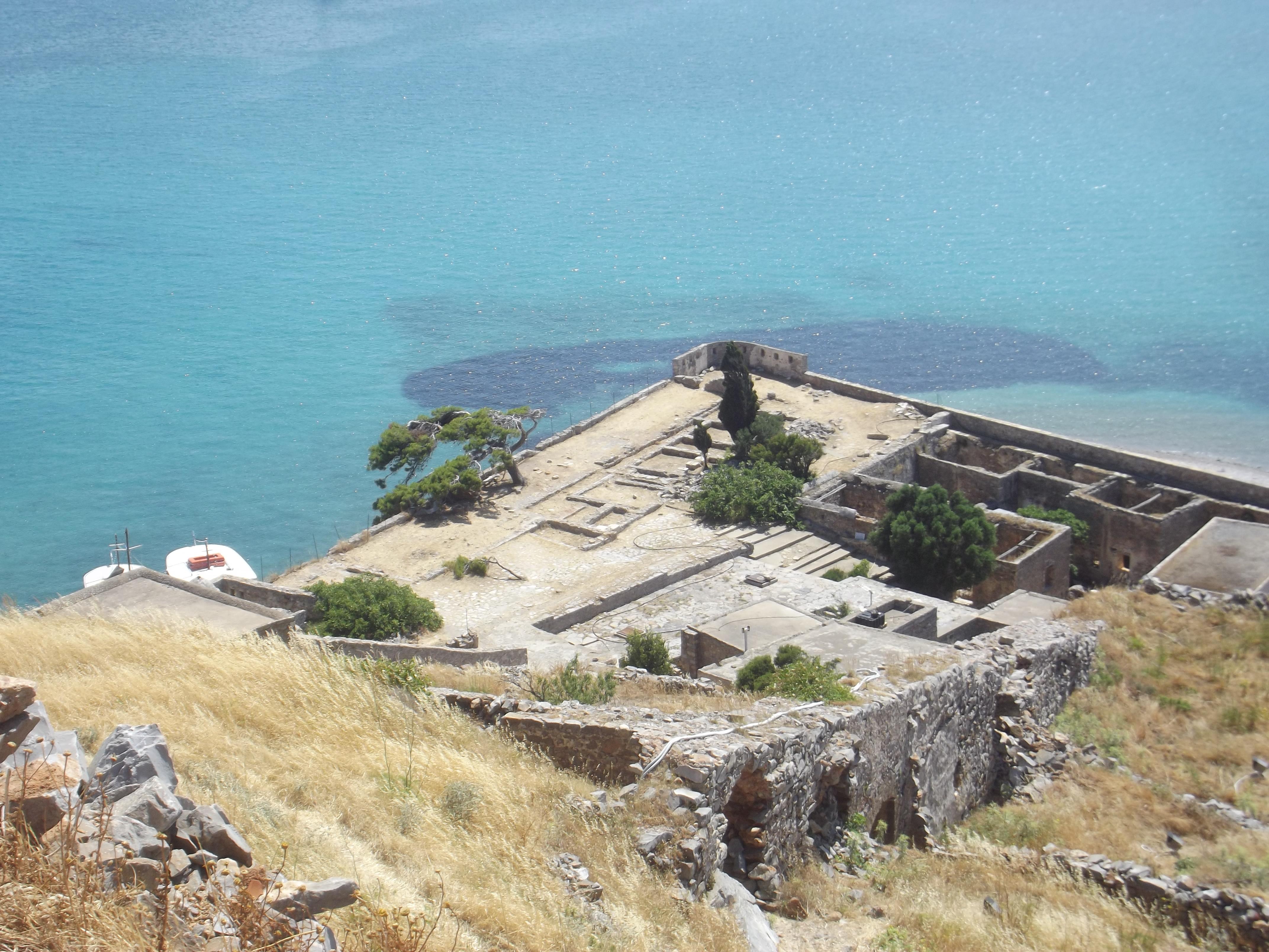 Vue sur l'île de Spinalonga
