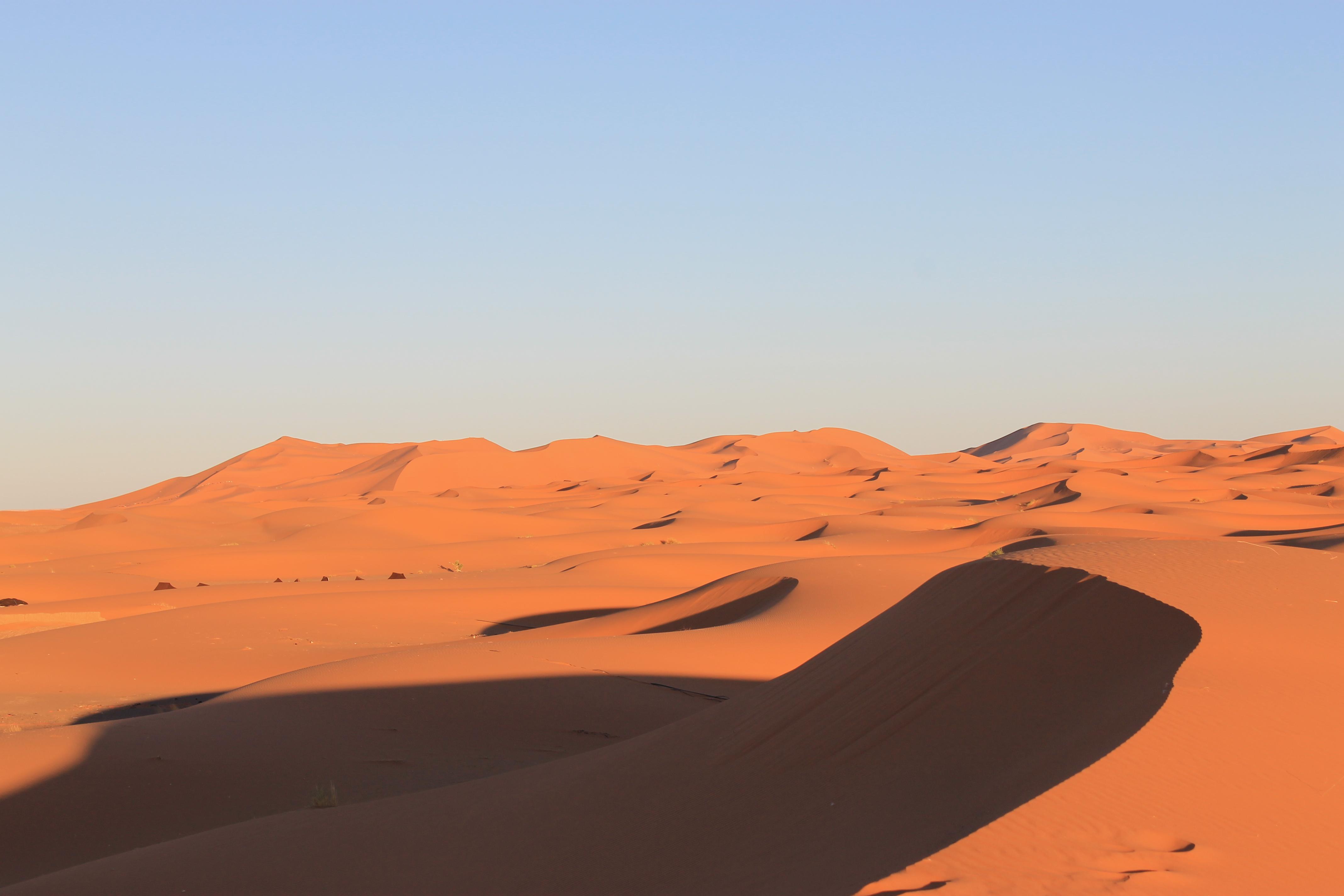 Dunes de Merzouga (voyage au Maroc)