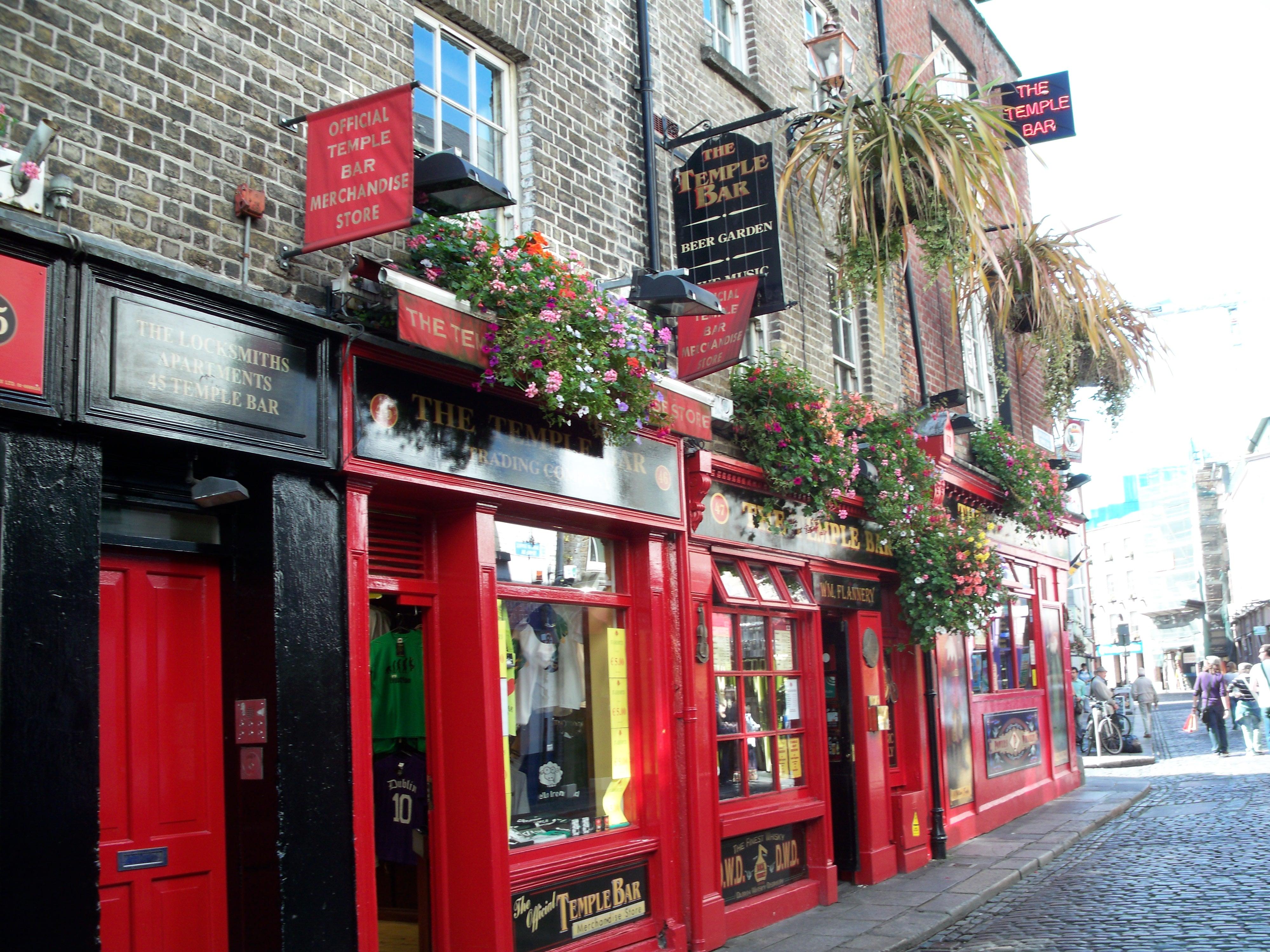 Le Temple Bar à Dublin