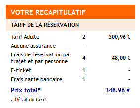 tarif final promovacances