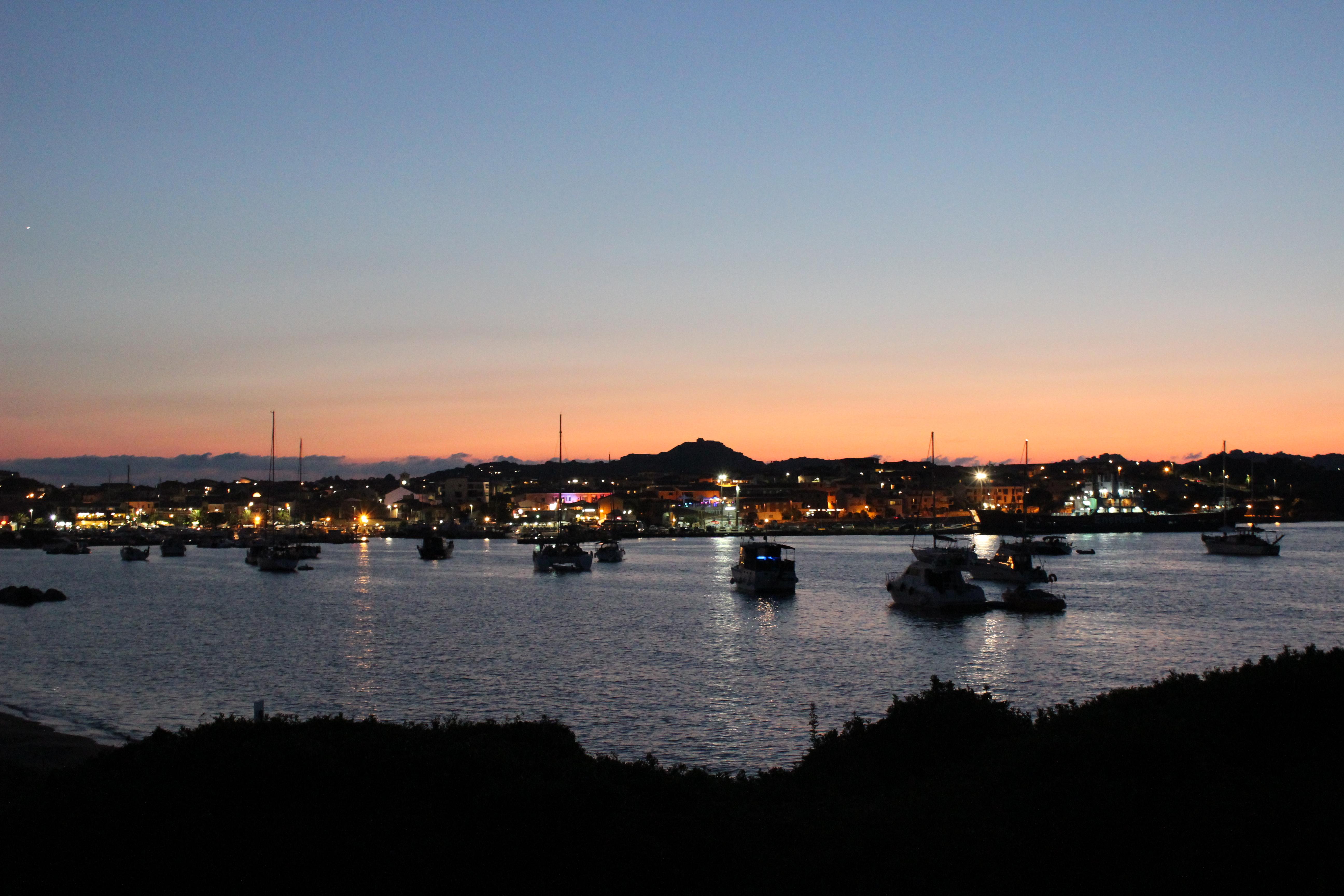 Le port de Palau