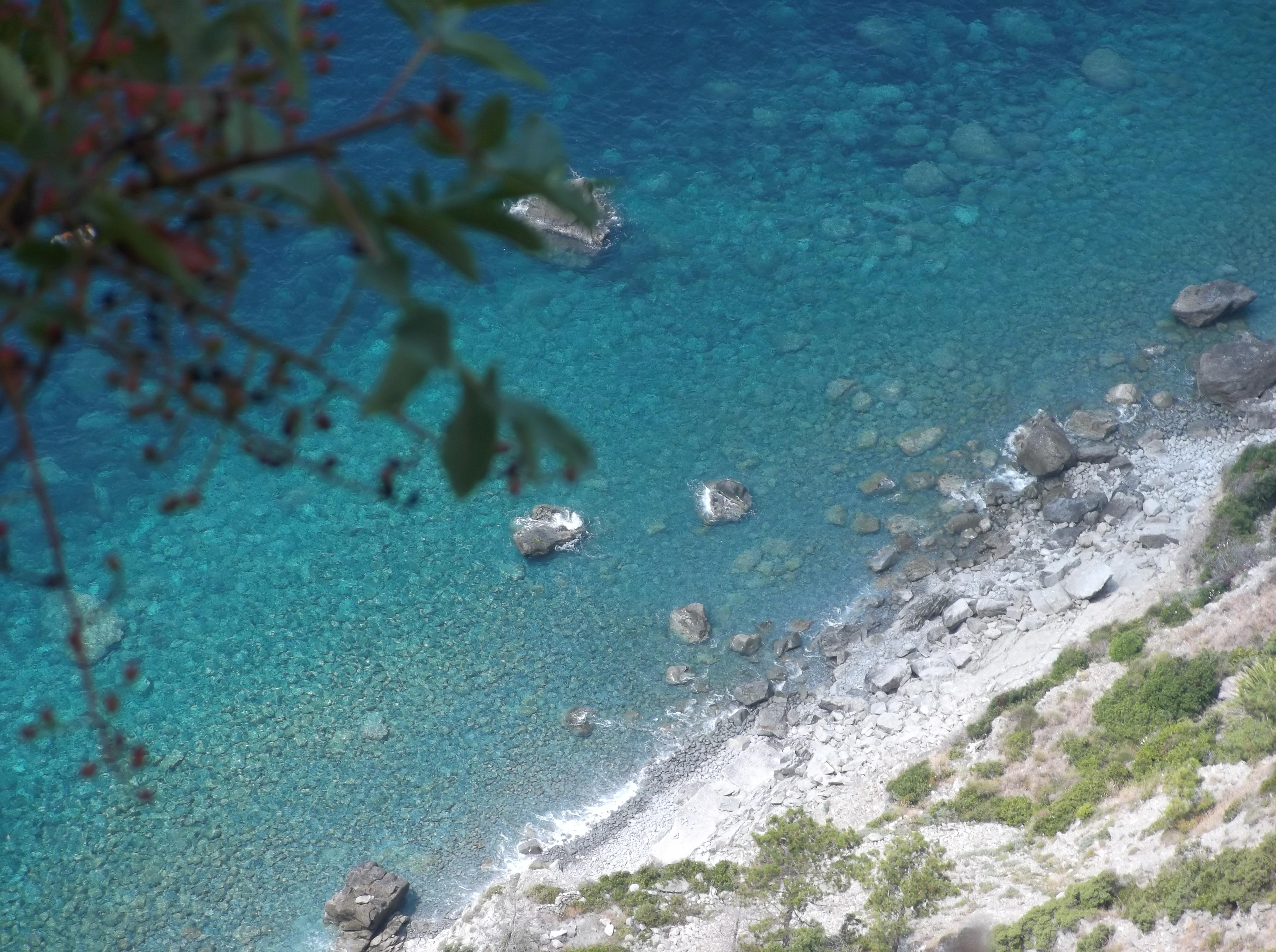 Vue sur la mer entre Levanto et Monterosso