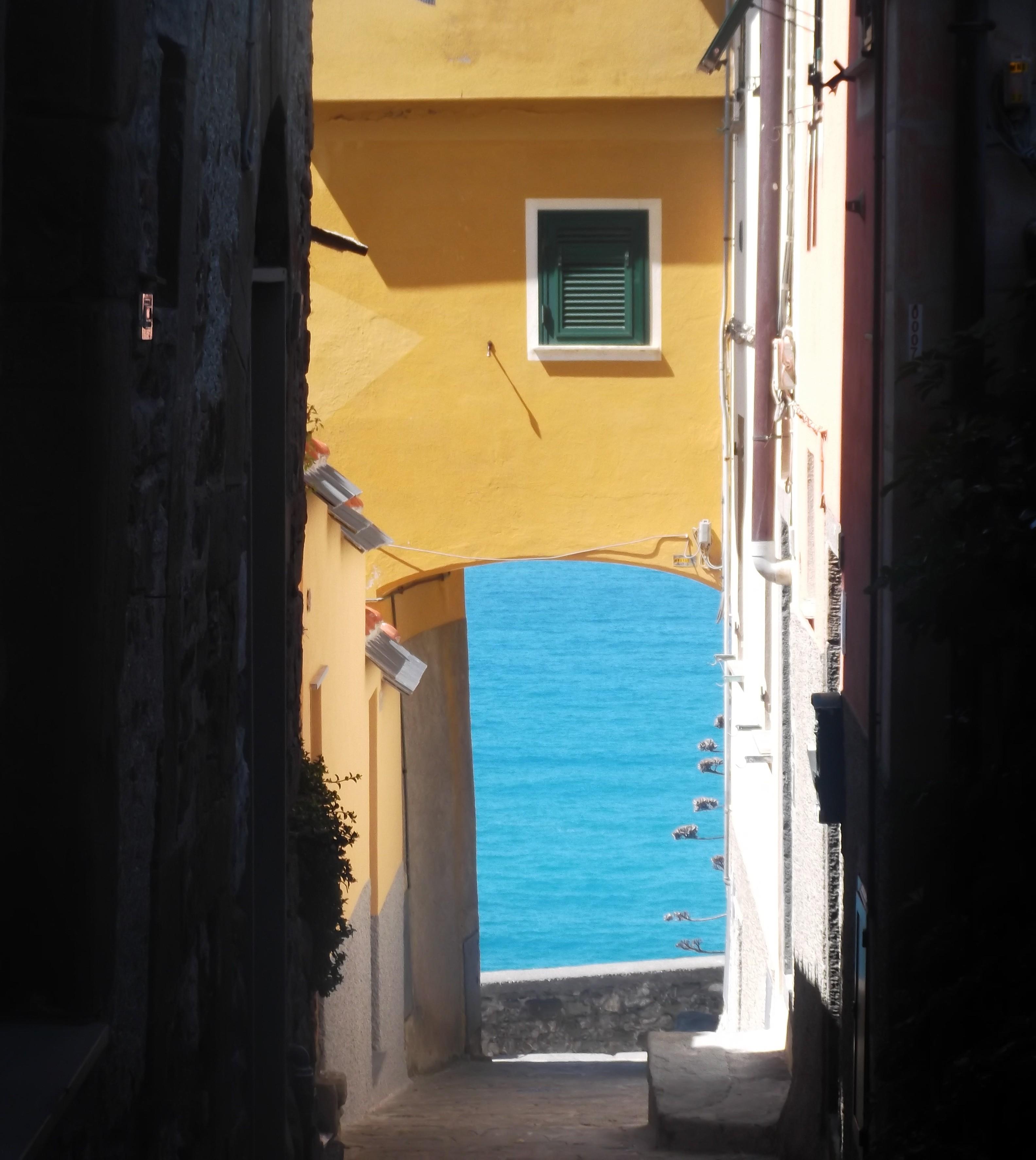 Ruelle à Corniglia