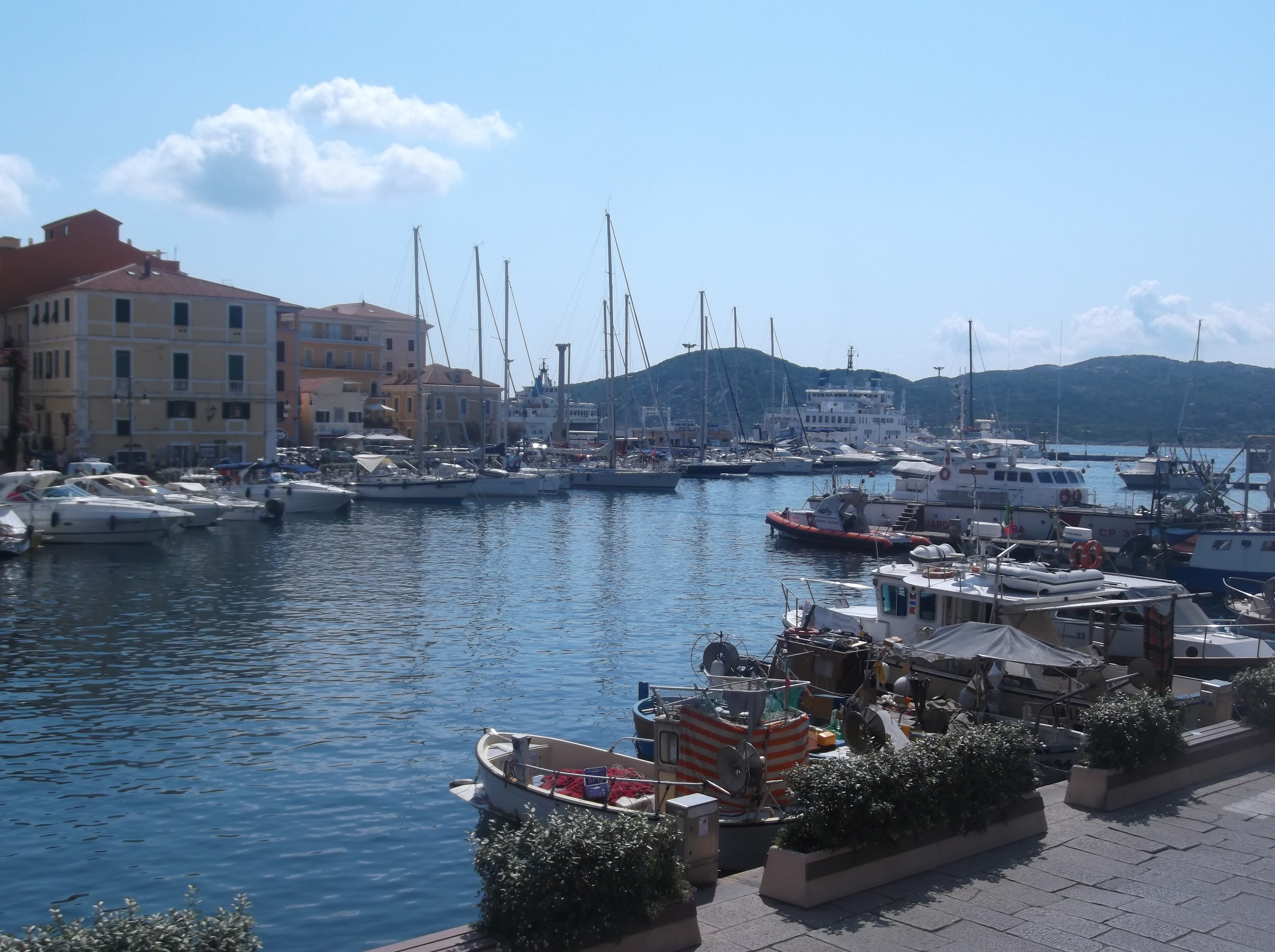 Le port de la Maddalena