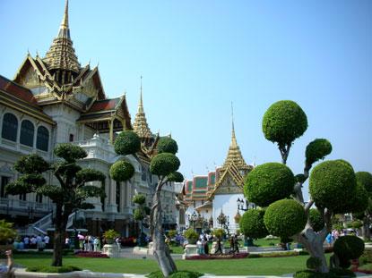 Le grand palais de Bangkok