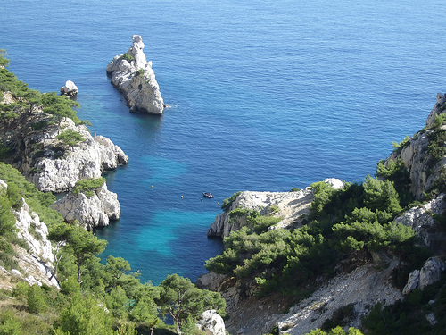 Calanque de Sugiton près de Marseille