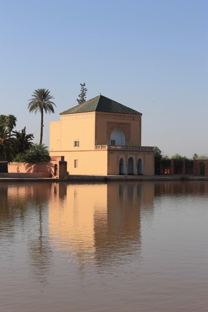 Les jardins de la Ménara à Marrakech