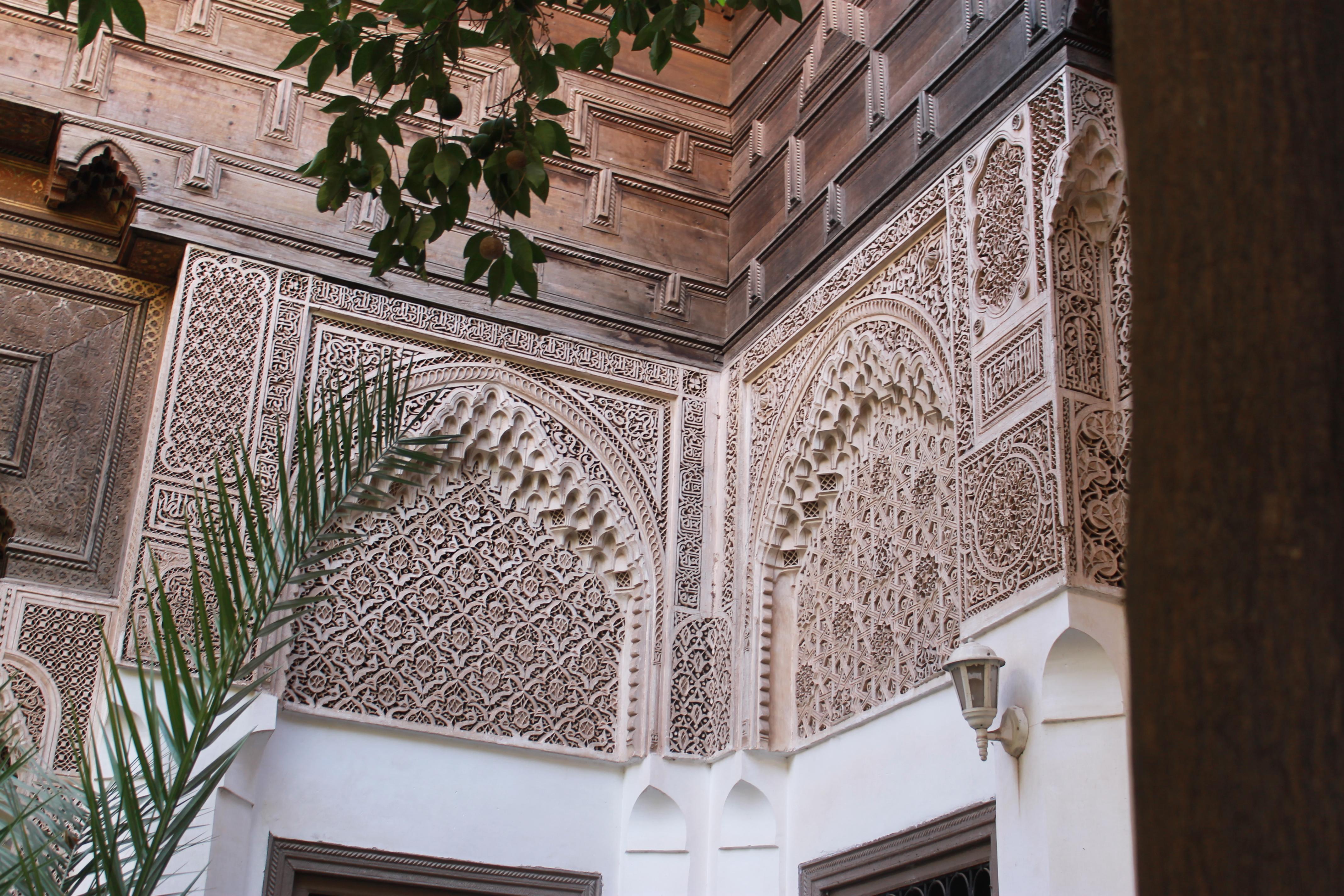 Le palais de la Bahia à Marrakech