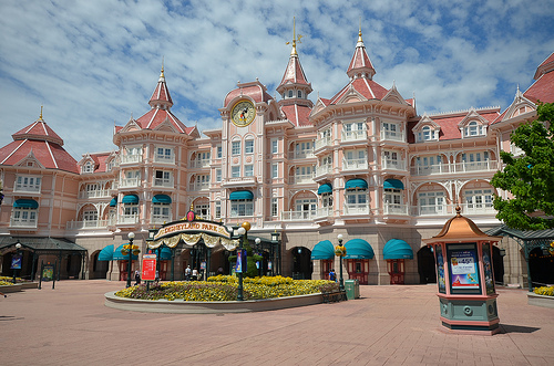 Le parc de Disney Land Paris