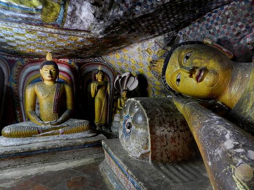Le temple de Dambulla