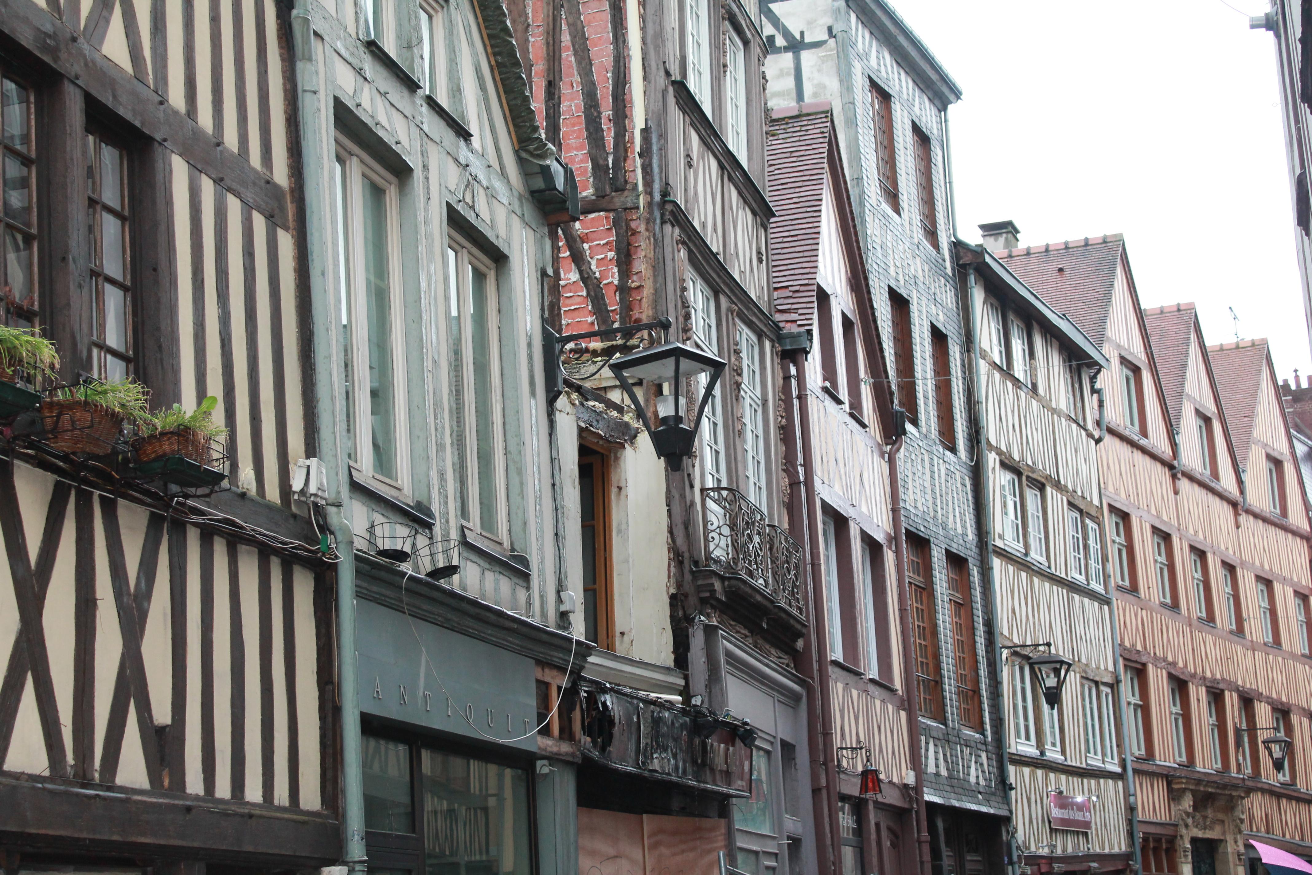 Les maisons à colombage de Rouen