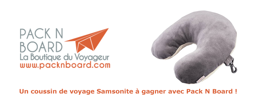 Concours Pack N Board & Le Prochain Voyage
