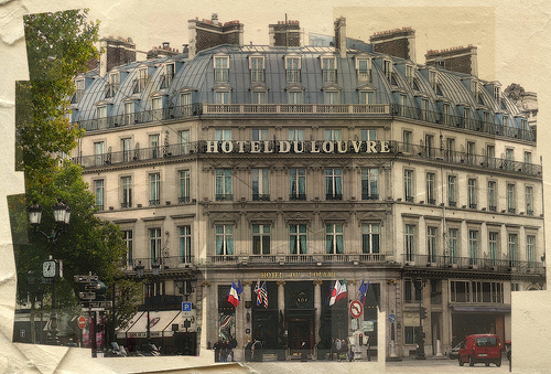 L'Hôtel du Louvre à Paris