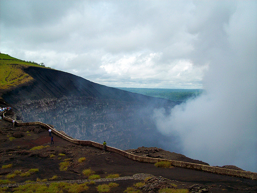 Le volcan Masaya au Nicaragua