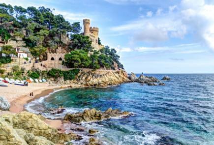 La Costa Brava en Espagne