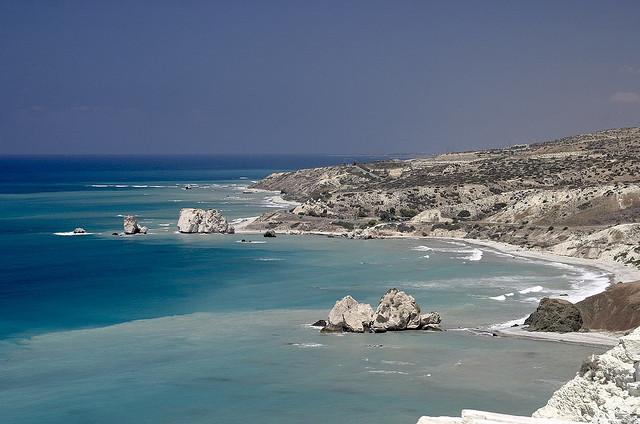 Le Rocher d'Aphrodite à Chypre