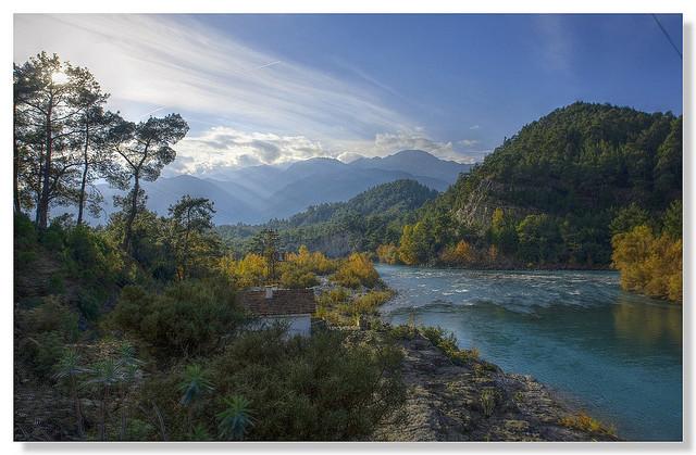 Köprülü Canyon en Turquie
