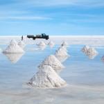 Salar d'Uyuni, le désert blanc des hauts plateaux