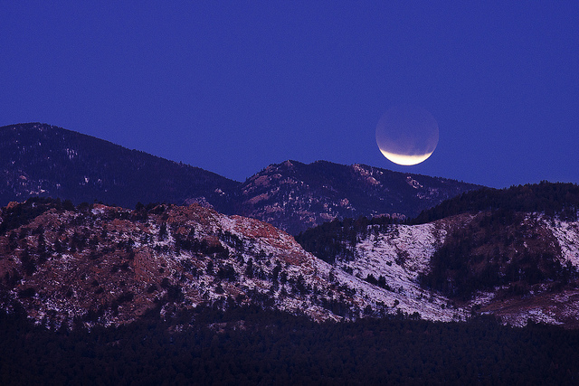 Éclipse de 2011 vue depuis le Colorado © Flickr -  Steven Bratman