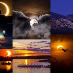 Éclipses solaires : les plus belles photos et vidéos du web !
