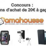 Concours : un accessoire pour votre smartphone à gagner avec Amahousse