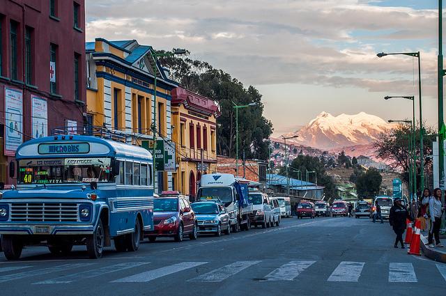 La Paz en Bolivie