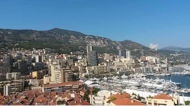La ville de Monaco