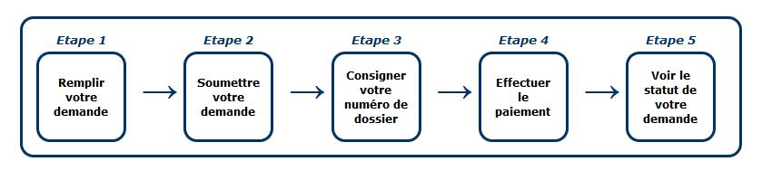 Les différentes étapes pour remplir la demande ESTA sur le site officiel