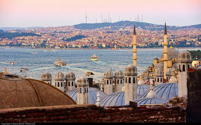 La ville d'Istanbul et le Bosphore