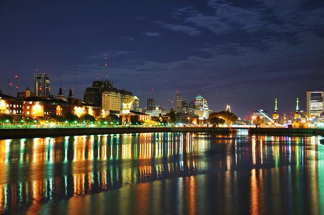 La ville de Buenos Aires en Argentine